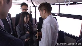 Exploited In A Public Bus