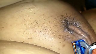 Shaving The Clit Smooth