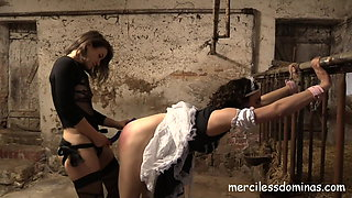 Danke Miss Flora - Anal Invasion and Hot Wax for Moya's Ass