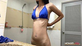 Sexy Skinny Thai Gogo Dancer Creampied Deep!