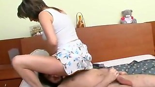 Russian mother with son - 77