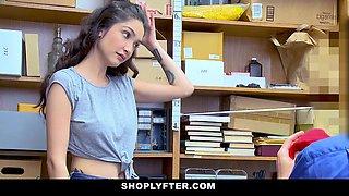 ShopLyfter - Looter Teen Gets Cum Dumped
