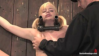 Ally Ann in Ally Ann 19yr olds, and getting fucked by a machine - DeviceBondage