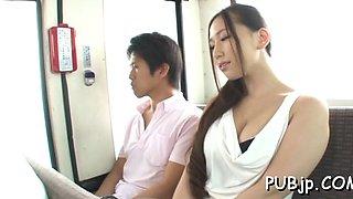 Admirable chick sayuki kanno blowing like a goddess