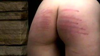 Schoolgirl ivy spanked