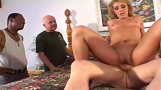 Small Dick Husband Watches His Wife Struggle With A Hung Stud