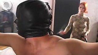 Exotic amateur BDSM, Redhead sex scene