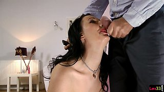 Classy milf fucked after fingering her ass