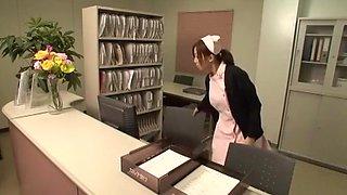 Horny Japanese whore Mint Suzuki in Best Nurse JAV video