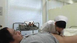 Crazy Japanese girl in Hottest Nurse JAV movie