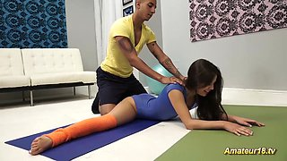 flexi acrobatic sex with young Lucy Doll