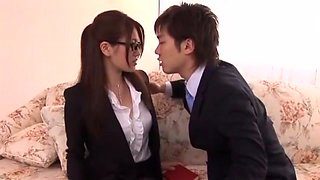 Reina Fujii in Beautiful Salacious Secretary