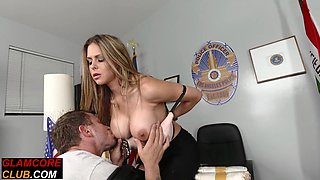 Euro glam pornstar with bigtits gets drilled