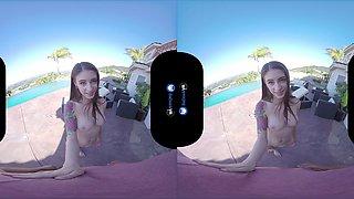 BaDoink VR Flexible Teen Slut Anna De Ville Gets Her Asshole Fucked VR Porn