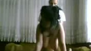 Banging my hot turkish girlfriend in doggy position