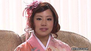 Japanese bride fucked in sex rituals