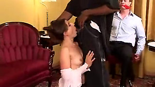 Used wife fucked by a big black cock