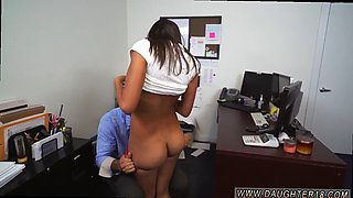 The most amazing latina babe screwed hard her boss in the office