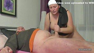 German Grandma Nun Get Fornicateed With Not Dad In Sextape