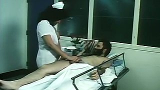 Hairy patient seduced and licked pussy of a lady in the hospital