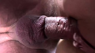 Sexy young girl fucked by fat old man cum swallow