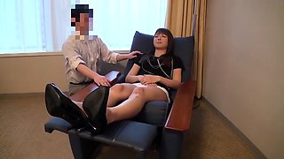 Fabulous Japanese model in Incredible Toys, Casting JAV clip