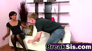 Step Sis Kimberly Nutter Gets Roughly Banged