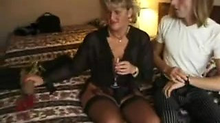 Unattractive British Mother I'd Like To Fuck with two boys