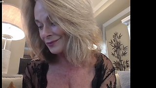 Hottest 52 y.o. Blonde Milf loves anal
