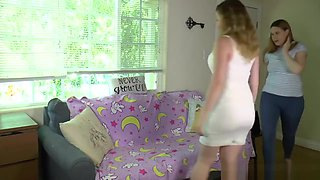 spanking NOT her daughter