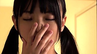 Asian amateur girlfriend gives a blowjob pov HD