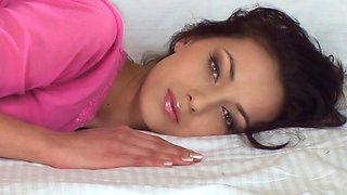 Amazing beauty with beautiful eyes. Posing