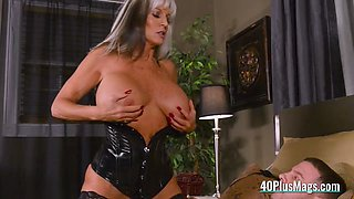 milf mistress uses slave's big dick film