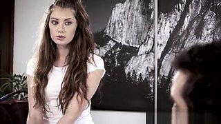 Virgin 18yo teen creampied in taboo sex at doctor offce