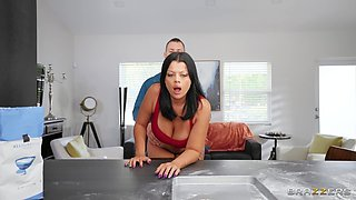 Interracial FFM threesome with lovely Jordy Love & Nadia White