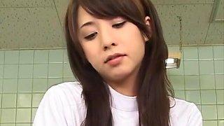 Incredible Japanese chick Yuka Osawa in Fabulous Handjob, Hardcore JAV scene