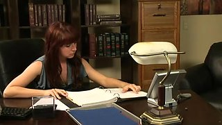 Lesbo Office Seduction 4 . Part two