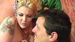 Smoking hot Candy Monroe rides a black cock in front of her boyfriend