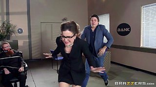 Big Tits at Work: Titty Heist II: The Negotiator. Bridgette B, Toni Ribas