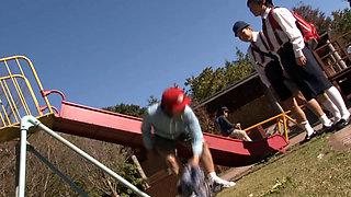 Happening Incest Fuck At The Park Slide