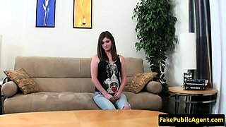 Casting euro babe fucked by midget agent