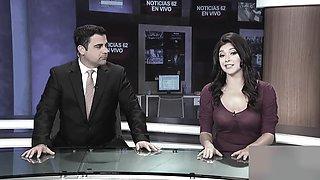 Live news big tits seethrough