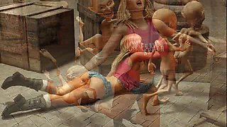 3D Hobbit Monster Sex Dream!