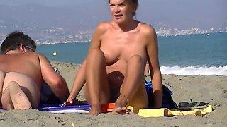 Nude Beach Voyeur Ass Closeups