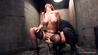 Anal MILF Pussy Punishment and Double Anal - TheTrainingofO