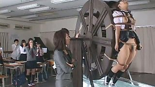 Waterwheel punishment