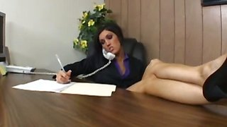 Big Titted Boss Always Gets Her Way