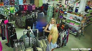 amateur jennifer jacobs punished for shoplifting
