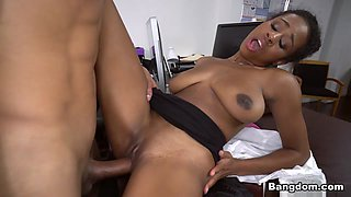 Ivy Young in Ivy sexy learns how to get ahead in the office - BrownBunnies