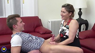 German housewife Teresa doing her toyboy